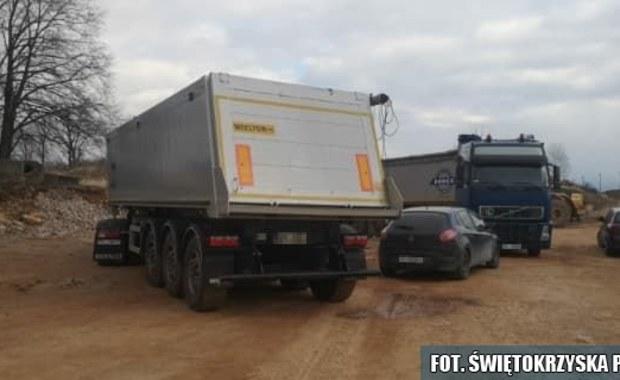 Policja zabezpieczyła ponad 55 ton niebezpiecznych odpadów