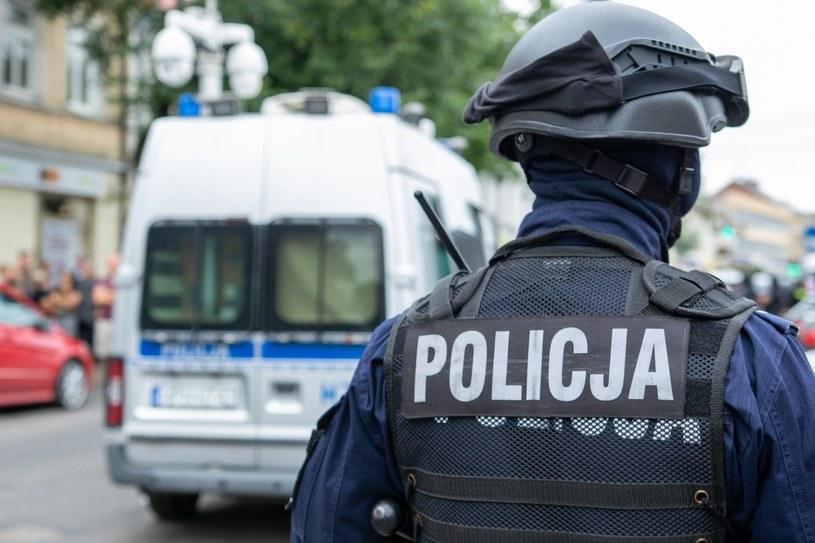 Policja zajmuje się sprawą bijatyki pseudokibiców ŁKS-u i Widzewa Łódź /Tomasz Kwasek/REPORTER /East News