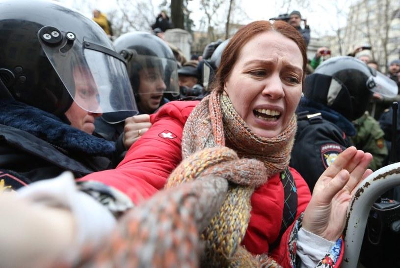 Policja zamknęła wejścia na plac Czerwony i plac Maneżowy /AFP
