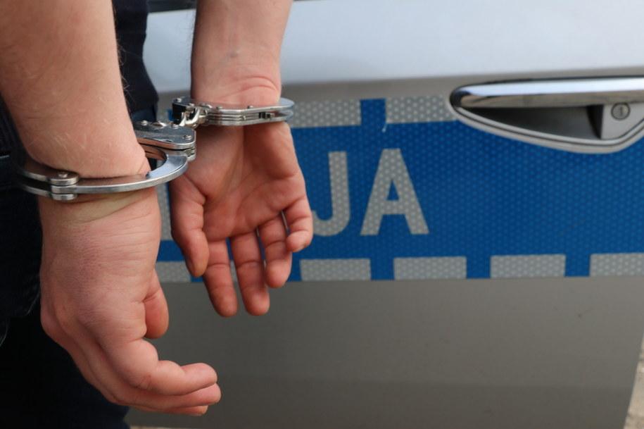 Policja zatrzymała 32-letniego mieszkańca Siemianowic Śląskich. Zdjęcie ilustracyjne /Jacek Skóra /PAP