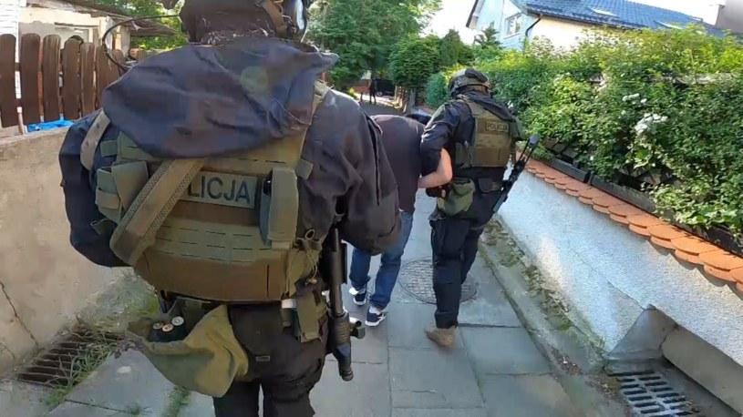 Policja zatrzymała Krzysztofa B., podejrzewanego o próbę uprowadzenia dziewczynki /pomorska.policja.gov.pl /Policja