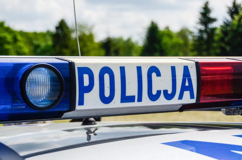 Policja zatrzymała mężczyznę kierującego furgonetką z napisami wymierzonymi w prezydenta Andrzeja Dudę /Gerard /Reporter