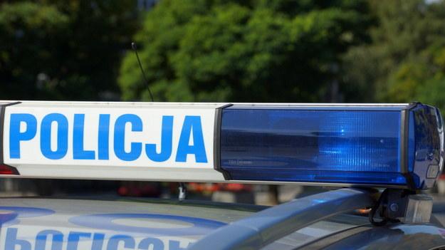 Policja zatrzymała podejrzanego o spowodowanie wypadku /RMF FM