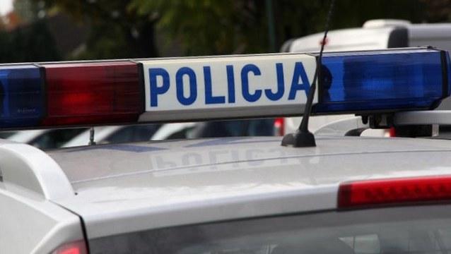 Policja zatrzymała podejrzanego /Policja