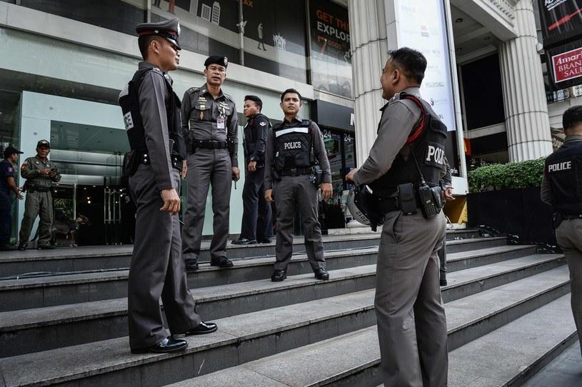 Policja, zdj. ilustracyjne /LILLIAN SUWANRUMPHA /AFP