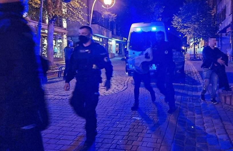 Policjanci dogonili napastnika i zatrzymali go. Okazało się, że to 32-latek z powiatu wołomińskiego /Policja Małopolska /materiały prasowe