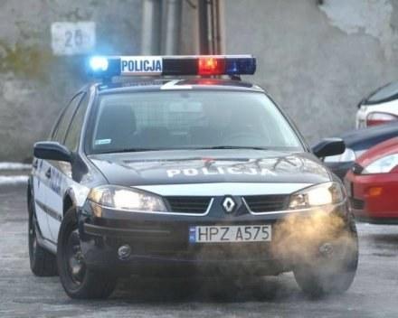 Policjanci jechali na interwencję/fot. T. Zieliński /Agencja SE/East News