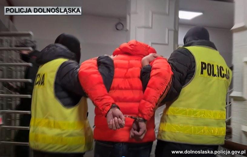 Policjanci na Dolnym Śląsku zatrzymali 51-latka /Policja Dolnośląska /Policja