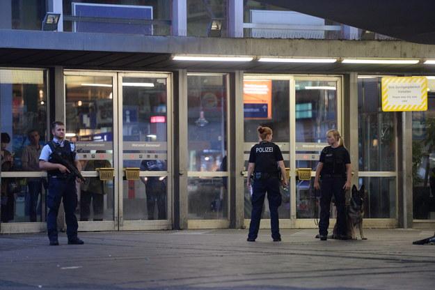 Policjanci na ulicach Monachium /Andreas Gebert /PAP/EPA