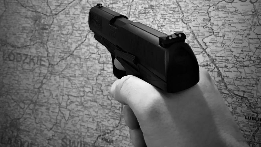 Policjanci oddali dwa strzały ostrzegawcze (zdj. ilustracyjne) /Jacek Skóra /RMF FM