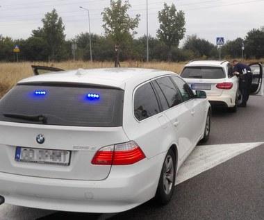 Policjanci odzyskali kradzionego Mercedesa C63 AMG