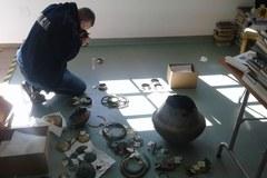 Policjanci odzyskali skarb z Miastka