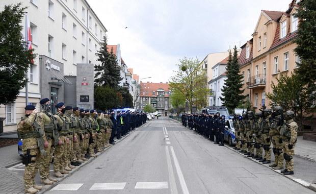 Policjanci pożegnali Michała Kędzierskiego. Funkcjonariusz zginął na służbie