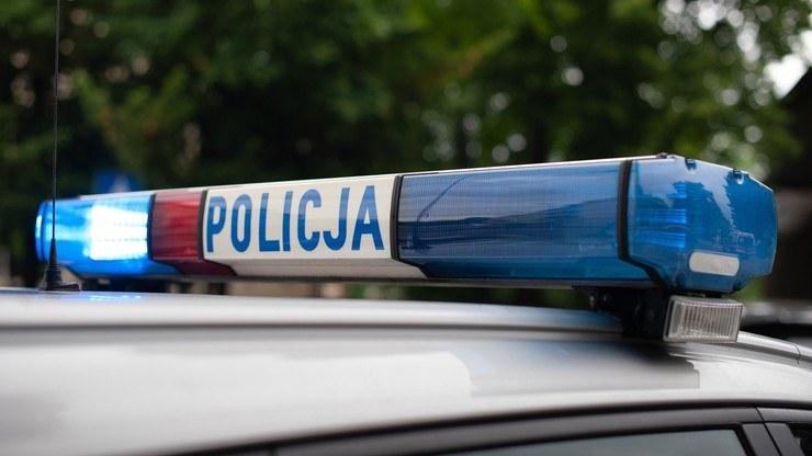 Policjanci prowadzili działania o charakterze kryminalnym /Polsat News