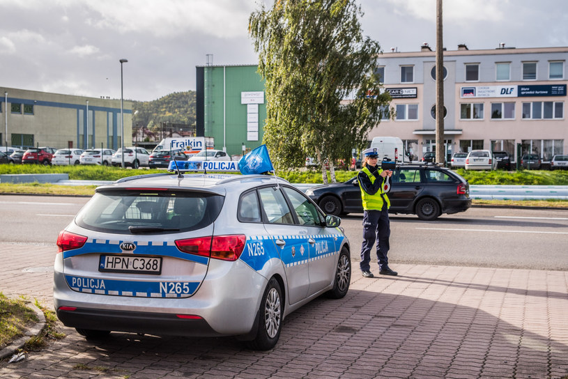 Policjanci sprawdzenia przebiegu dokonują podczas rutynowych kontroli /Marcin Bruniecki /Reporter