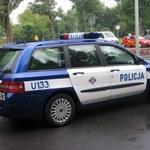 Policjanci tropią złodzieja... radiowozu
