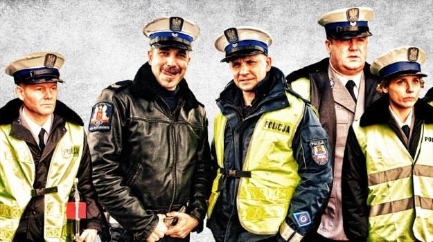 """Policjanci z """"Drogówki"""" wyglądają na nieporadnych... /materiały dystrybutora"""