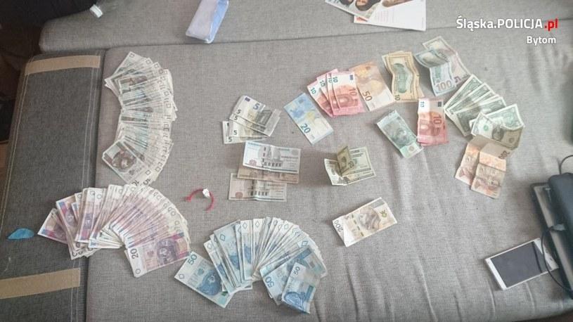 Policjanci zabezpieczyli blisko 50 tys. zł. w gotówce /Policja
