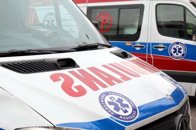 Policjanci zatrzymali 31-latka, który ukradł karetkę /Piotr Bułakowski /Archiwum RMF FM