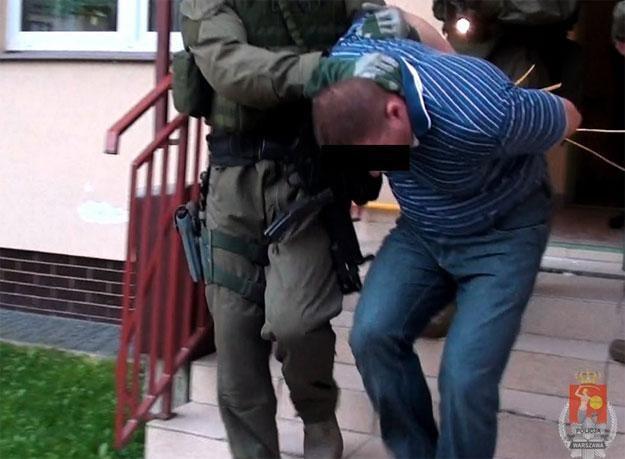 Policjanci zatrzymali trzech mężczyzn /Policja