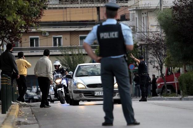 Policjanci zatrzymali złodziei / ORESTIS PANAGIOTOU /PAP/EPA