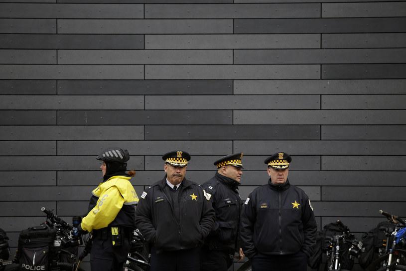 Policjancie z Chicago /AFP