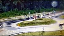 Policjant gonił sprawcę kolizji