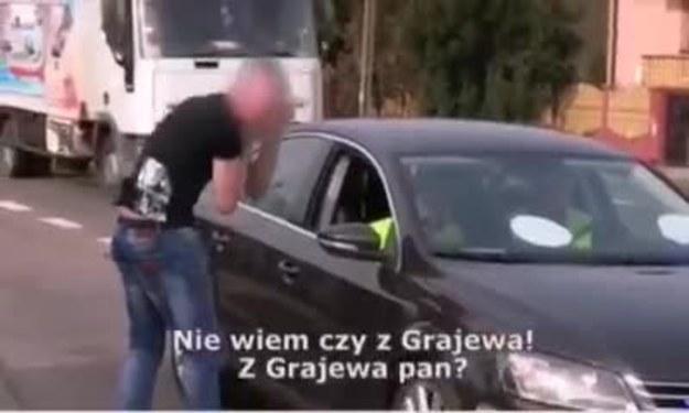 Policjant: nazywam się Niemotko.. Kierowca: pan mówi, że nie można