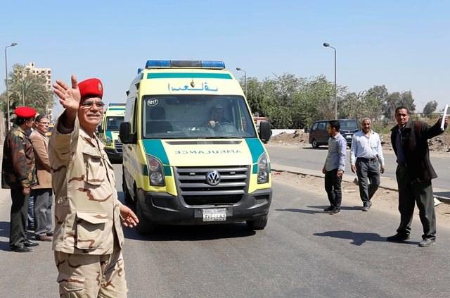 Policjant zginął, trzy osoby zostały ranne /OSAMA ABDEL NABY / AL-MASRY AL-YOUM    /PAP/EPA