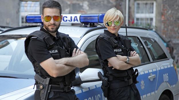 """Policjantki i policjanci"" /Telus /AKPA"