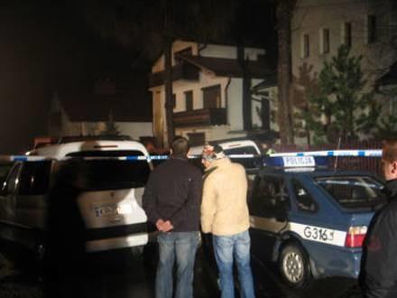 Policji udało się odnaleźć kilka łusek nabojów /RMF