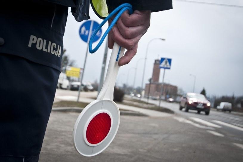 Policyjna kontrola drogowa /Tymon Markowski /East News