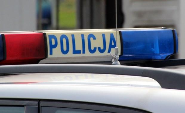 Policyjna obława w Jankach