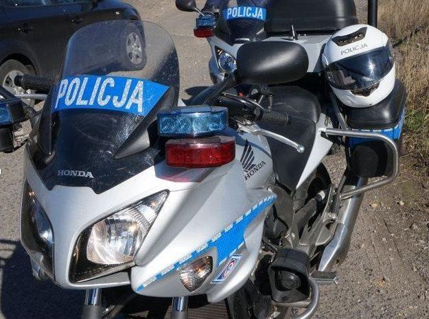 Policyjne Hondy /Policja
