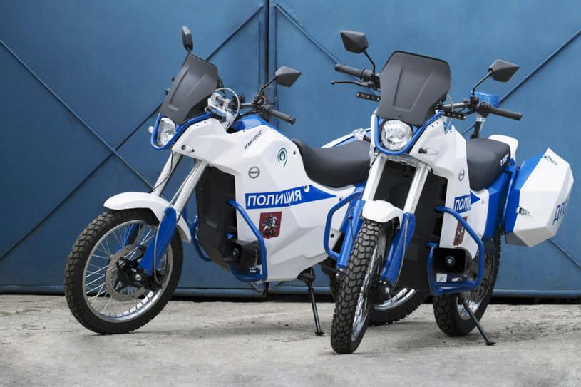 Policyjne motocykle Iżh Pulsar /