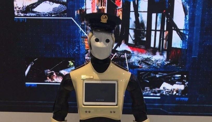 Policyjne roboty z Dubaju /materiały prasowe