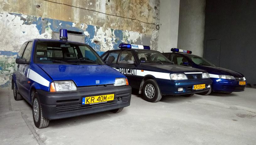 Policyjnego fiacika można oglądać na wystawie w Hangarze Czyżyny /Krakowskie Muzeum Ratownictwa /INTERIA.PL