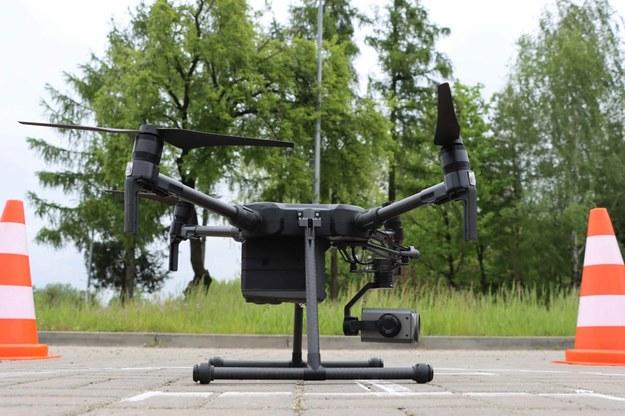 Policyjny dron /KWP Radom /Policja