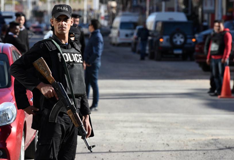 Policyjny patrol w Hurghadzie /MOHAMED EL-SHAHED /AFP