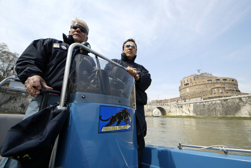 Policyjny patrol w Rzymie - zdjęcie ilustracyjne /AFP