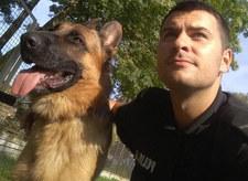 Policyjny pies wytropił pijanego sprawcę kolizji