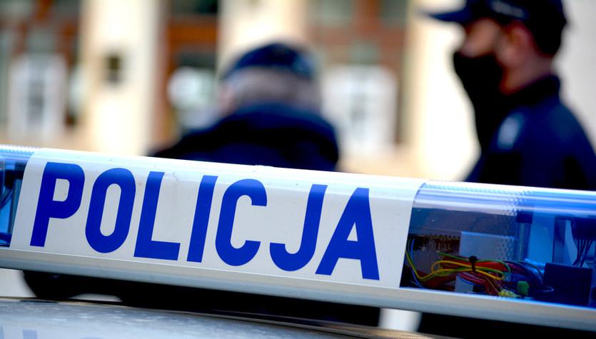 Policyjny pościg za przemytnikiem ludzi na Podlasiu