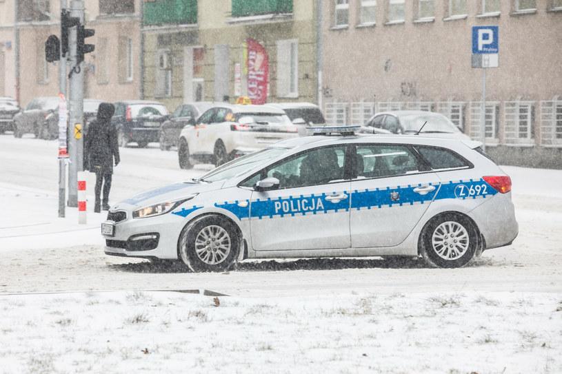 Policyjny radiowóz; zdj. ilustracyjne /Adam Burakowski /Reporter