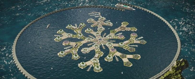 Polinezja Francuska wybuduje pierwsze pływające miasto /materiały prasowe