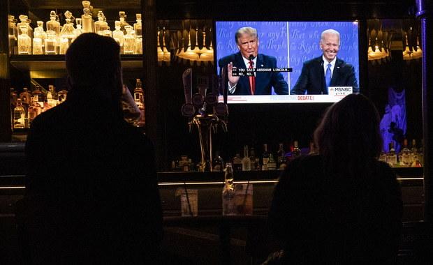 """""""Politico"""": Trump dobrze wypadł w debacie, ale to może być już za późno"""