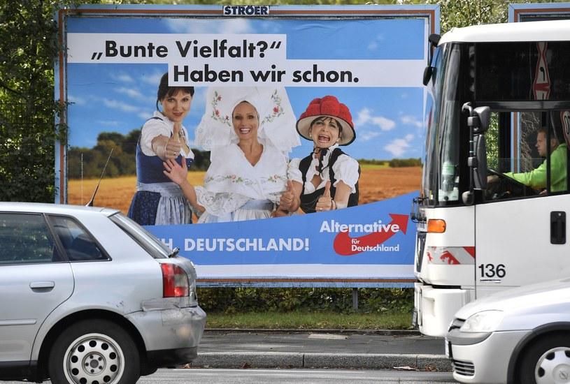 Politycy AfD sprzeciwiają się masowej imigracji do Niemiec /AP /East News