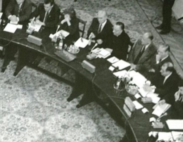 Politycy dyskutowali o spuściźnie okrągłego stołu /AFP