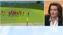 Politycy komentują Euro 2020. Okła-Drewnowicz o postawie duńskich piłkarzy: To był taki test z moralności