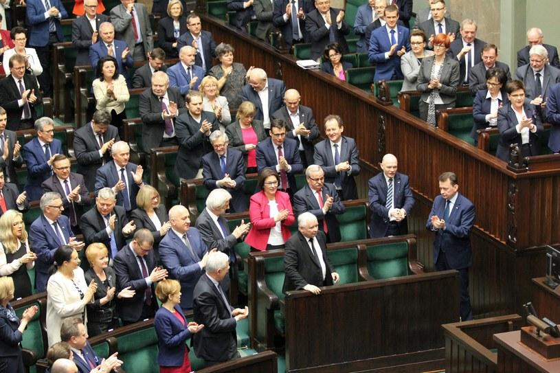 Politycy PiS w Sejmie /Robert Ostrowski /East News