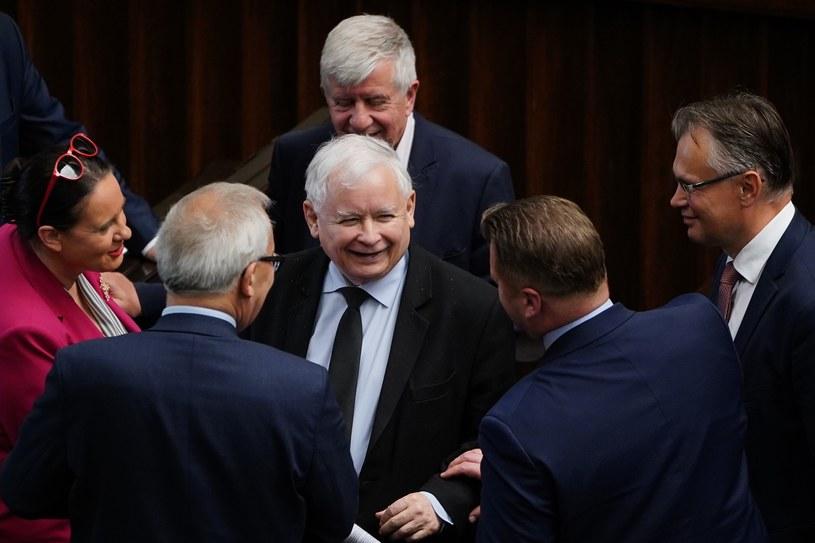 Politycy PiS w Sejmie /Mateusz Wlodarczyk /Agencja FORUM